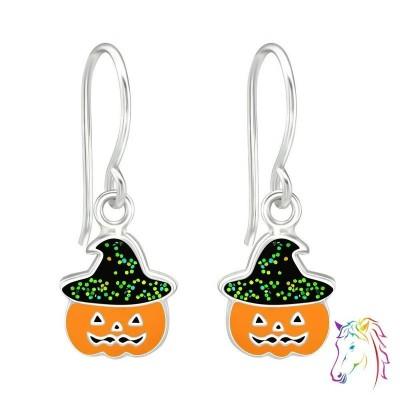 Halloweeni tök akasztós fülbevaló - A4S38691