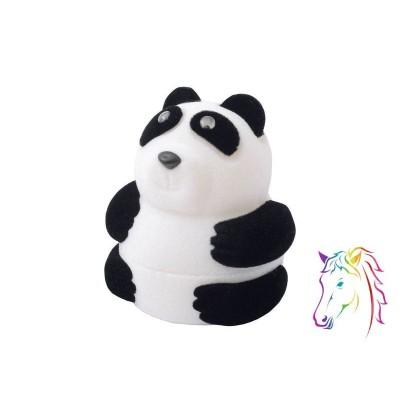 Panda bársony ékszerdoboz