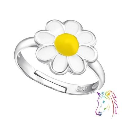 Kamilla virágos ezüst gyűrű - A4S11894