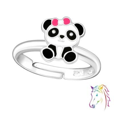 Pandamacis ezüst gyűrű - A4S38663