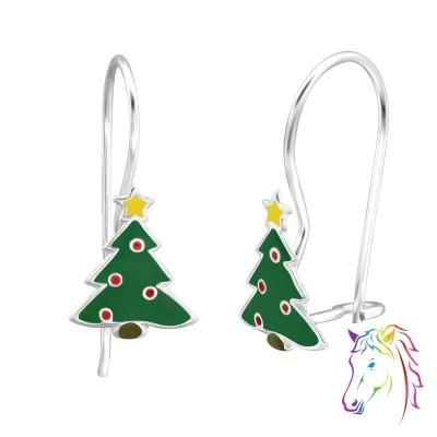 Karácsonyfa akasztós gyerek fülbevaló - A4S28647