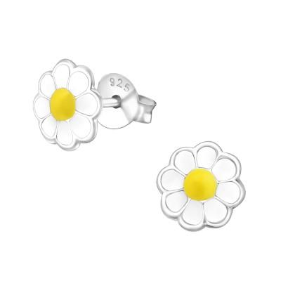 Kamilla virágos stift ezüst fülbevaló - A4S17356
