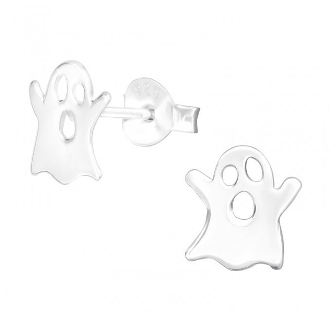 Szellem stift ezüst gyerek fülbevaló - A4S41494