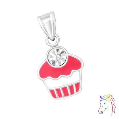 Fagyi kehely ezüst medál gyermek nyaklánchoz - A4S11775