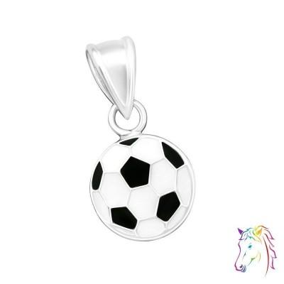 Focilabda ezüst medál gyermek nyaklánchoz - A4S15492