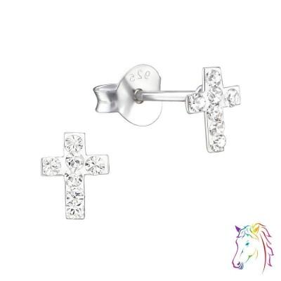 La Crystale kristályos kereszt fülbevaló - A4S24681