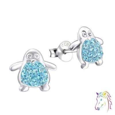 La Crystale kristályos pingvin fülbevaló - A4S24685
