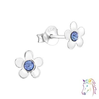 La Crystale kristályos stift virágos fülbevaló - A4S32811