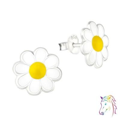 Kamilla virágos színes fülbevaló - A4S5285